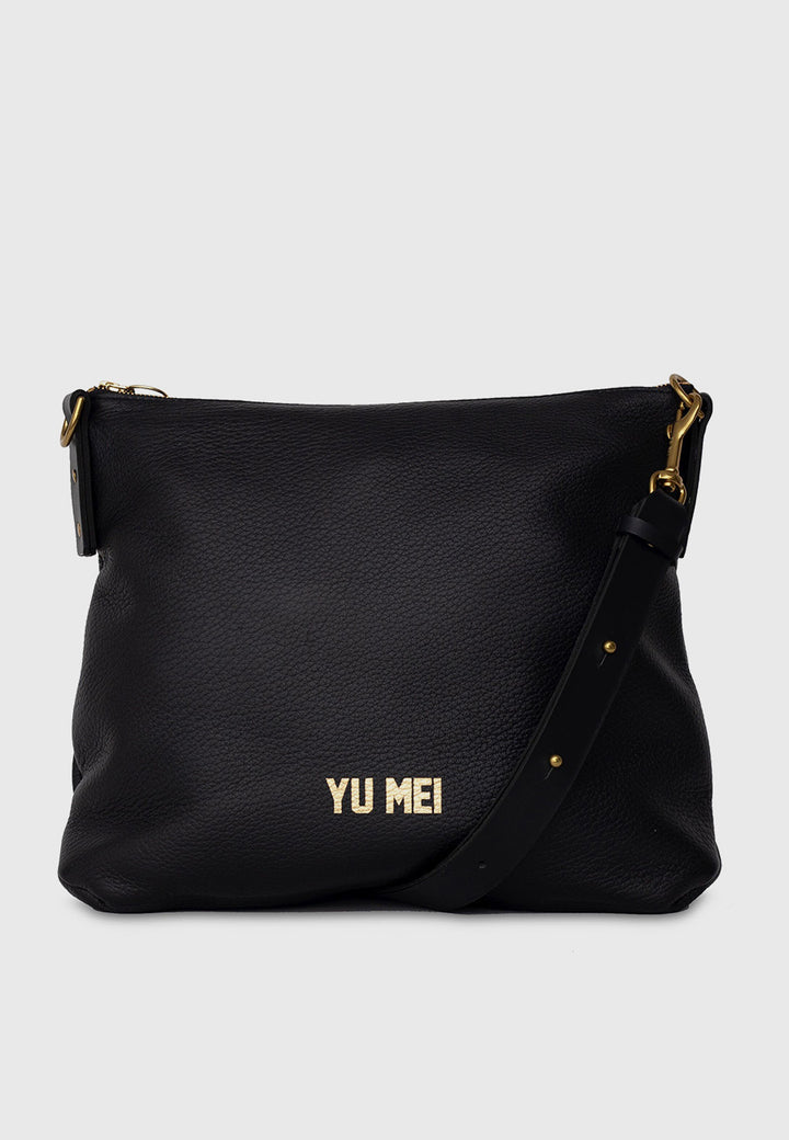 Yu Mei 3/4 Braidy  Bag - black — Good as Gold