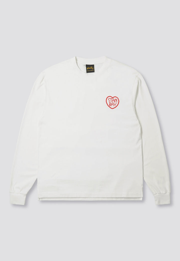Melodies Long Sleeve - white