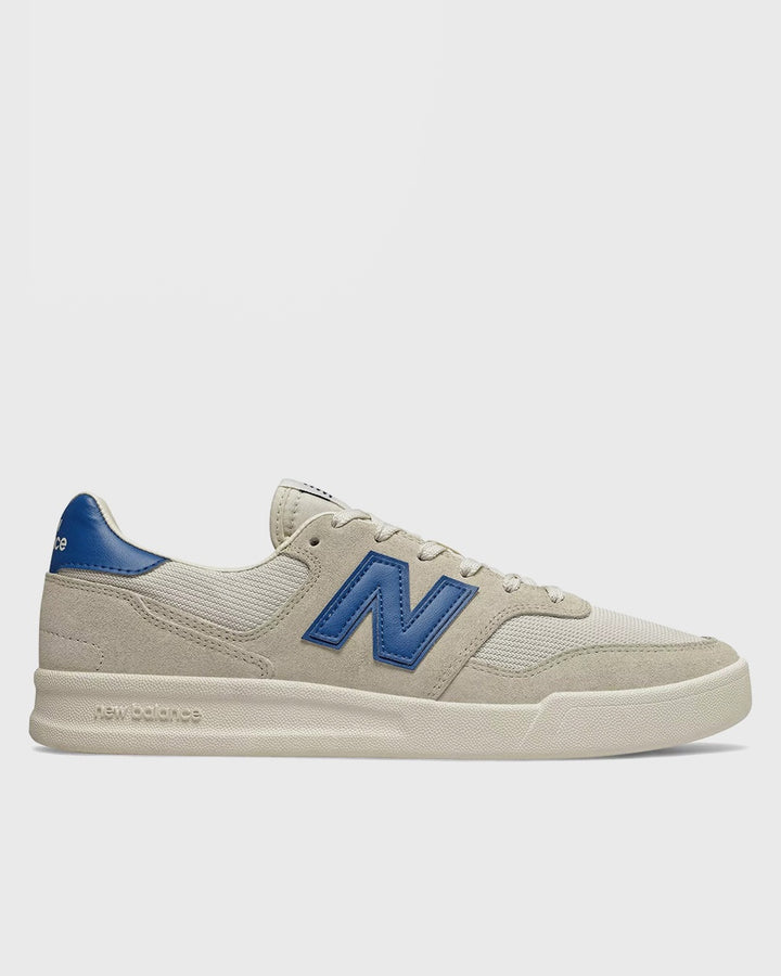 New Balance | Court 300 - white/blue suede | Good As Gold, NZ