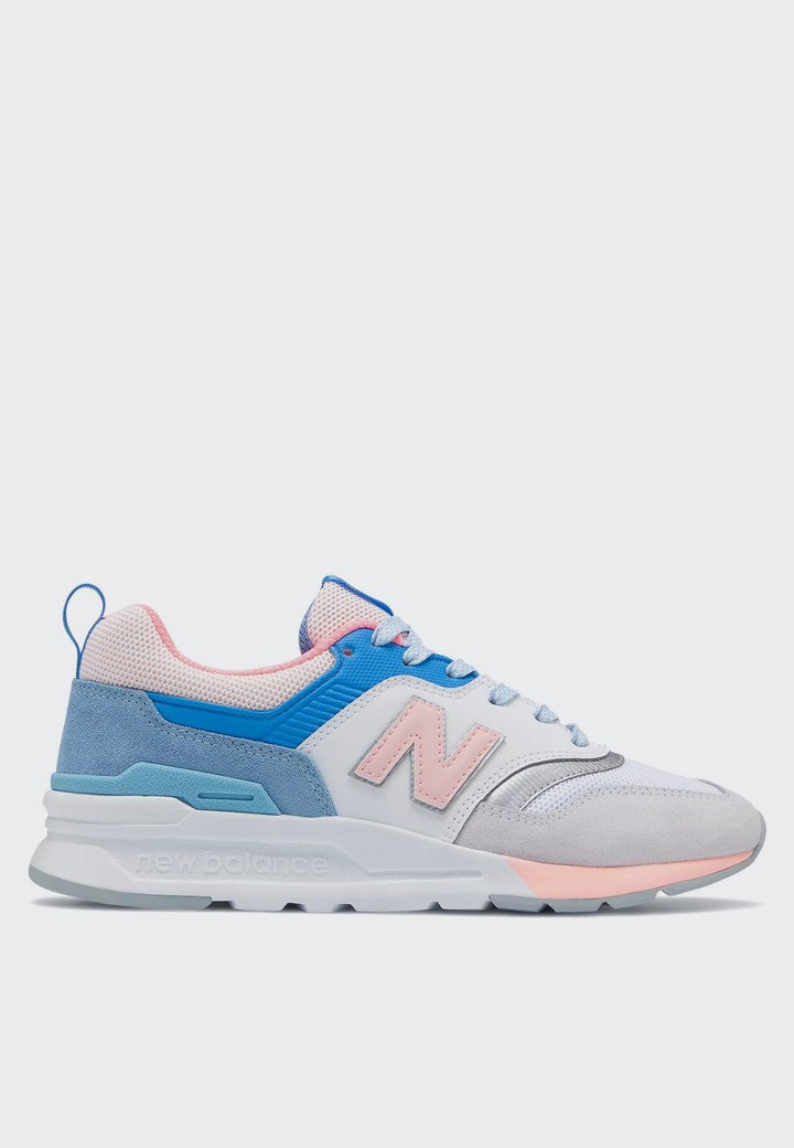 New Balance Womens 997 H - arctic fox/guava glo - Good As Gold