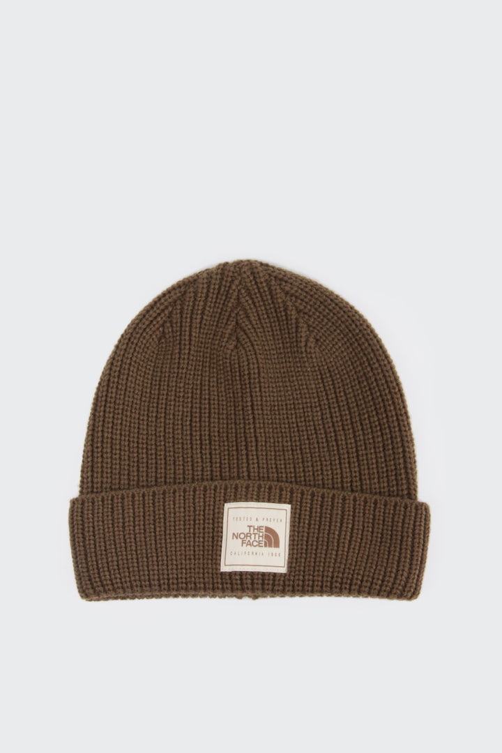 The North Face Pepper Dog Beanie - olive | GOOD AS GOLD | NZ