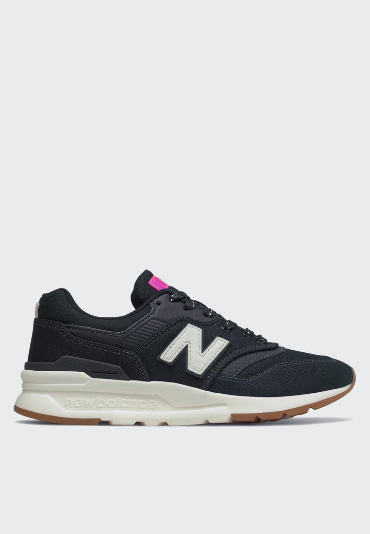 New Balance Womens 997 H Canvas - black/carnival - Good As Gold
