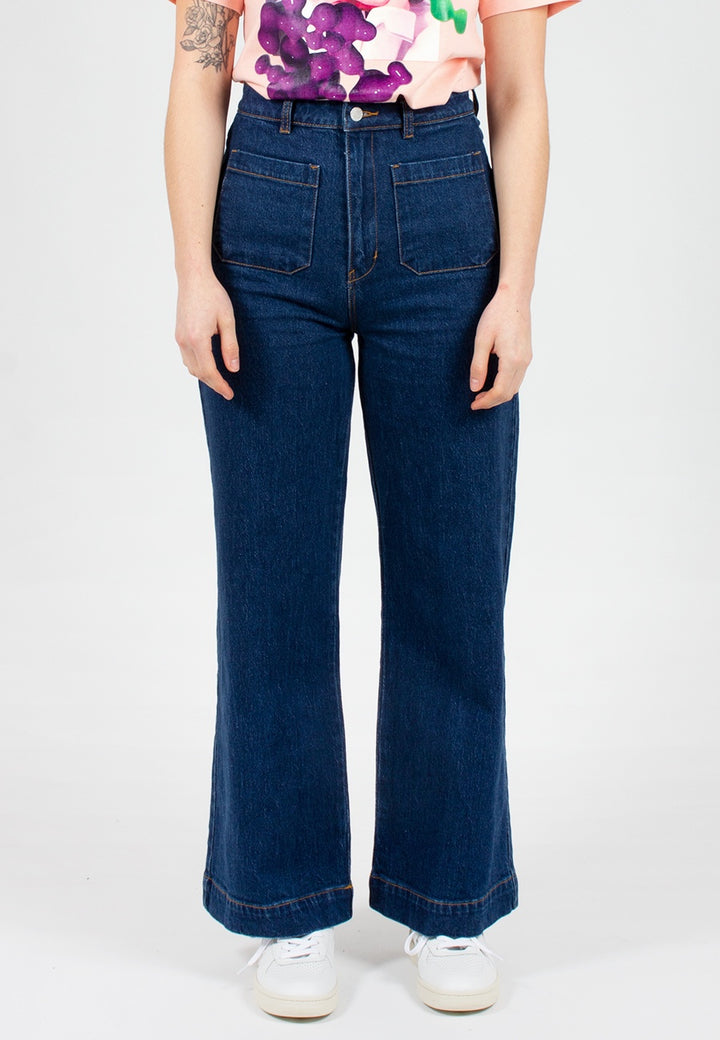 Rollas | Sailor Jeans - eco vicki blue | Good As Gold, NZ