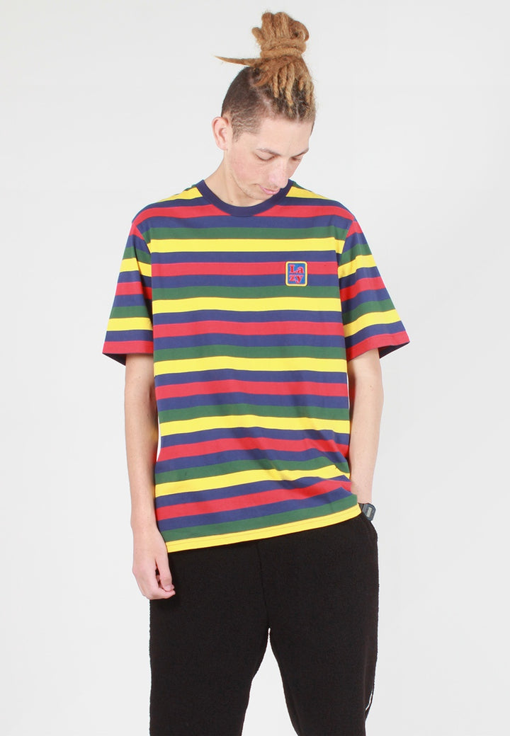 Lazy Oaf Big Stripe Lazy T-Shirt - multi — Good as Gold