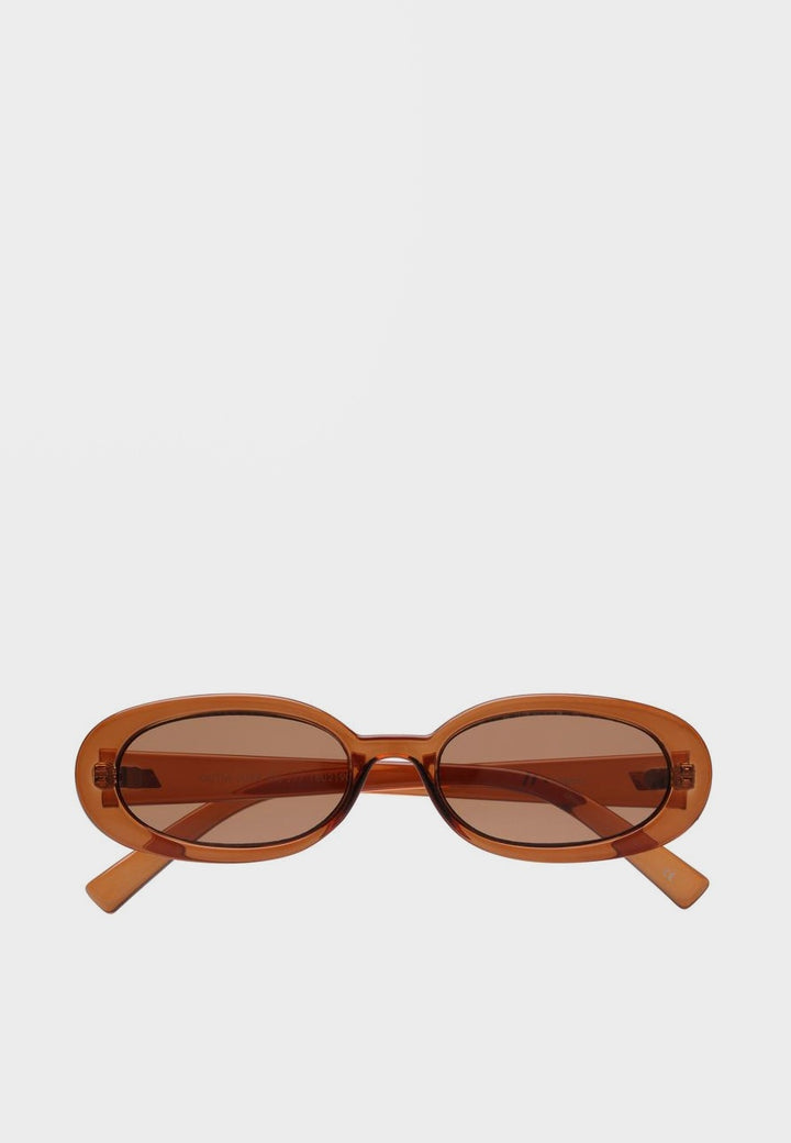 Le Specs Outta Love Sunglasses - caramel - Good As Gold