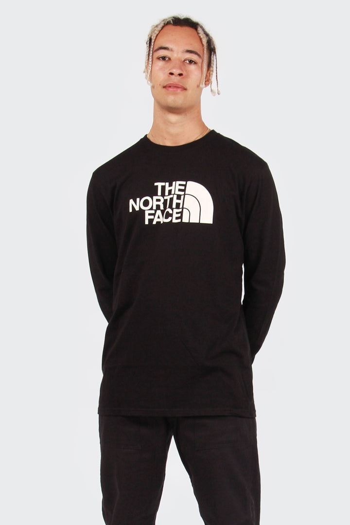 The North Face Half Dome Long Sleeve T-Shirt -  black | GOOD AS GOLD | NZ