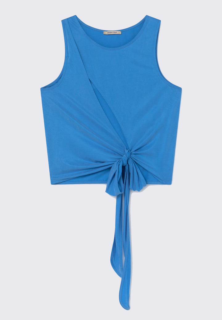 Name Top - soft blue