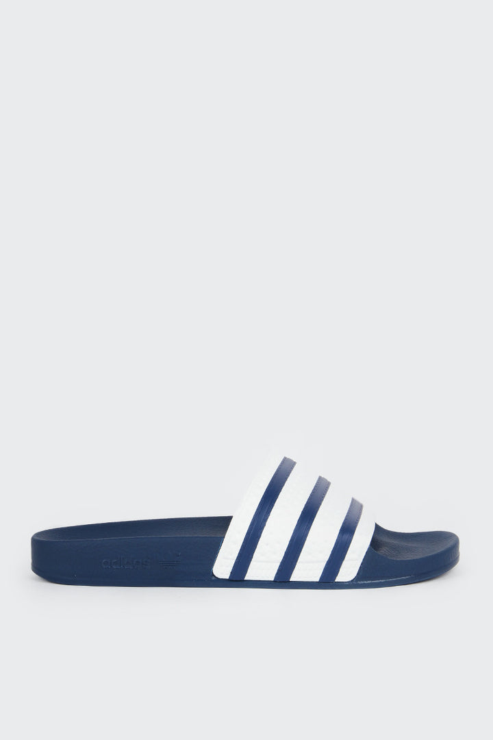 Adidas Originals Adilette Slides - blue/white/blue | GOOD AS GOLD | NZ