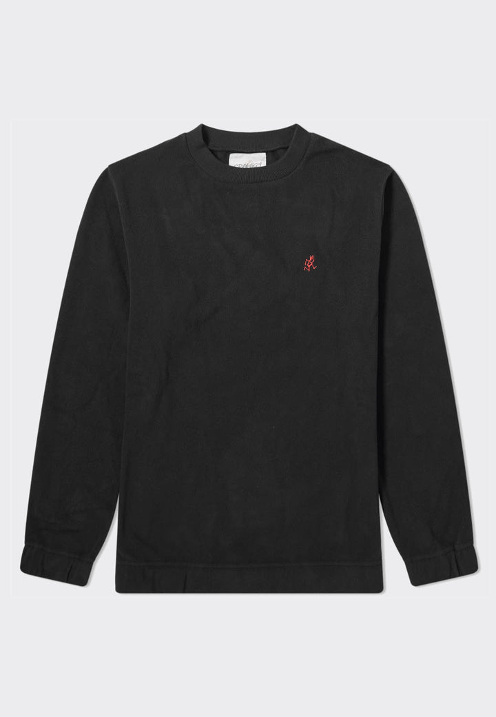 Fleece Crew Neck - black
