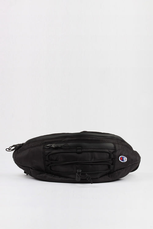 Champion Script Waist Bag - black — Good as Gold