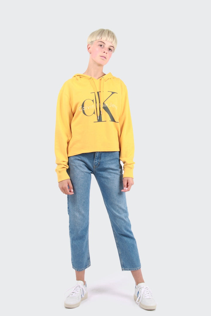 Calvin Klein Colour Pop Hoodie - spectra yellow | GOOD AS GOLD | NZ