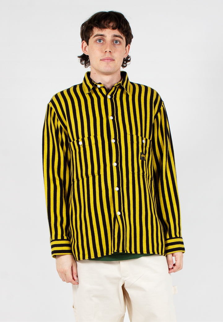 Stan Ray | Flannel Shirt - old yellow stripe | Good As Gold, NZ