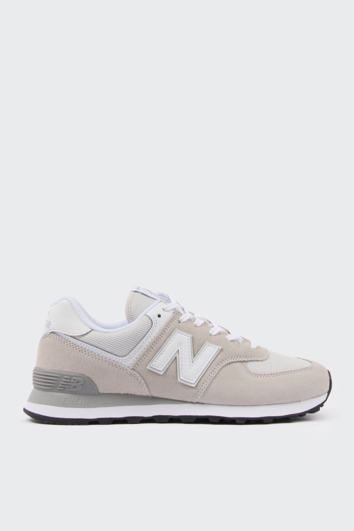 New Balance Womens 574 - white suede/grey mesh | GOOD AS GOLD | NZ