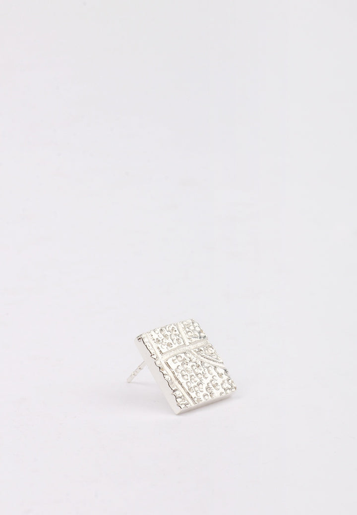 27Mollys Dot BBall Stud earring - silver | GOOD AS GOLD | NZ