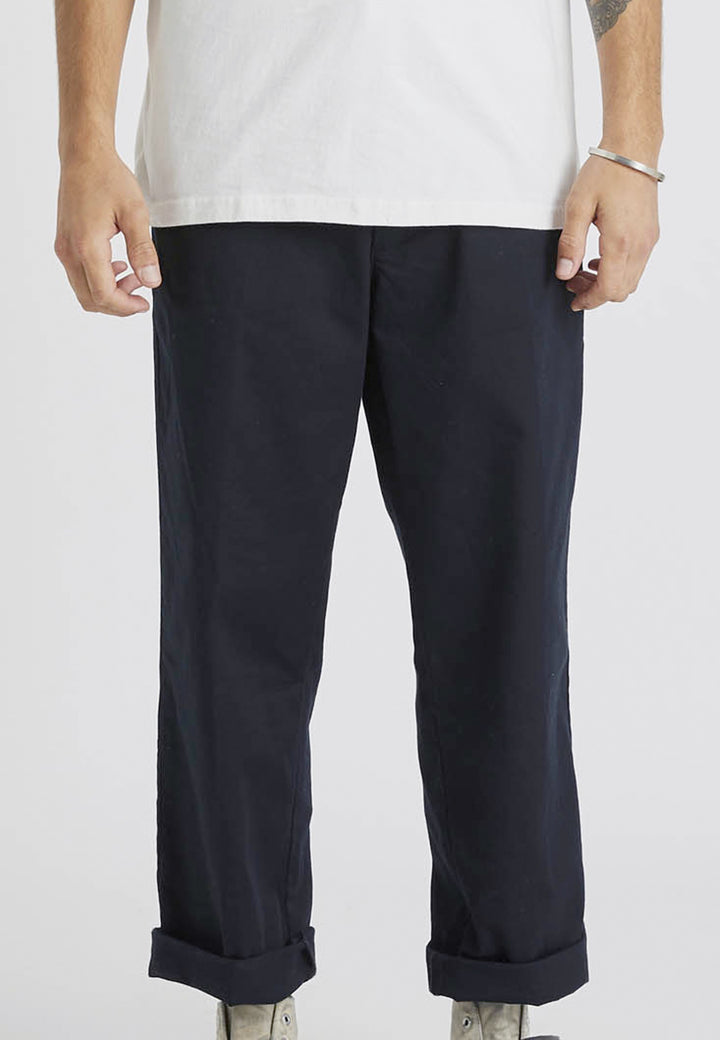 Lazy Boy Pant - black drill