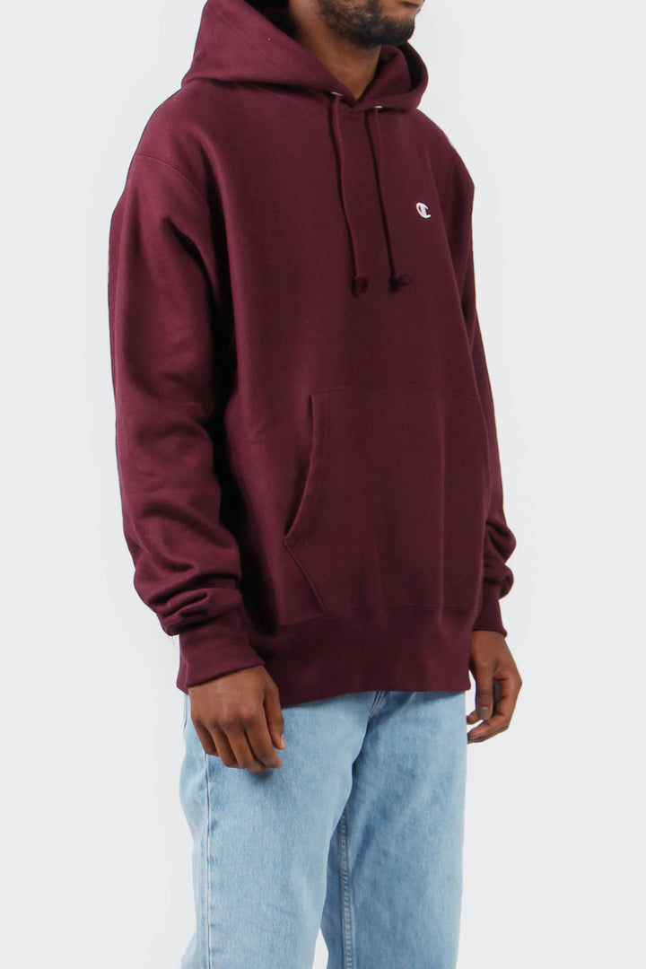 Champion Reverse Weave PO Hoodie - team maroon | GOOD AS GOLD | NZ