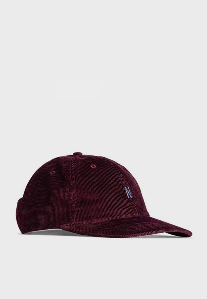 Norse Projects | Thin Sports Cap - mulberry red | Good As Gold, NZ
