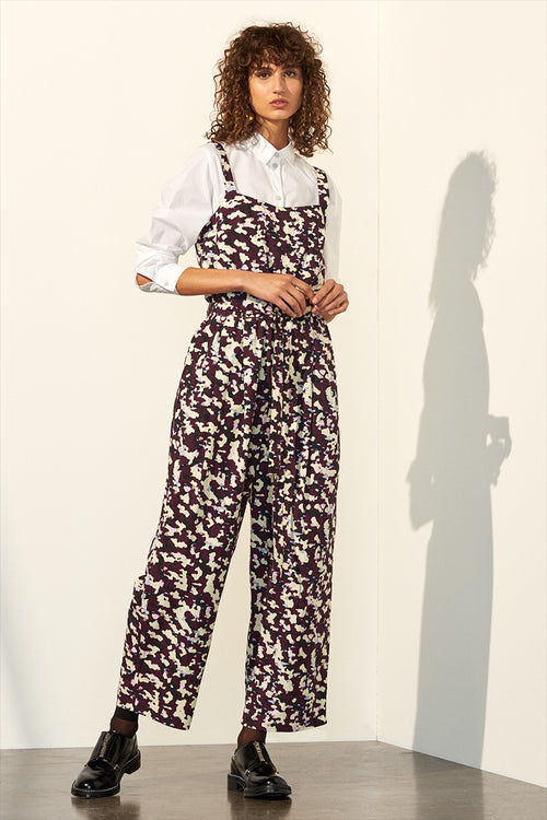 Kowtow Spring Jumpsuit - masque print | GOOD AS GOLD | NZ