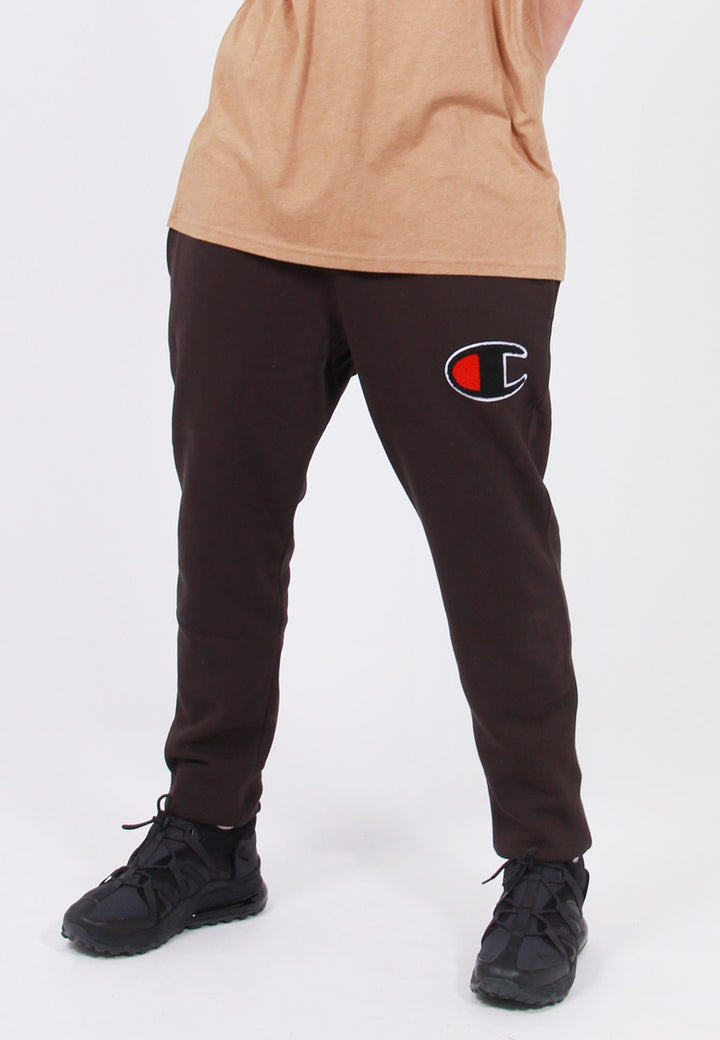 Champion Reverse Weave Chenille Script Jogger pant - black – Good as Gold
