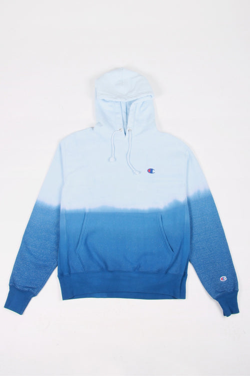 Champion Dip Dye Reverse Weave Hoodie - surf the web/white | GOOD AS GOLD | NZ