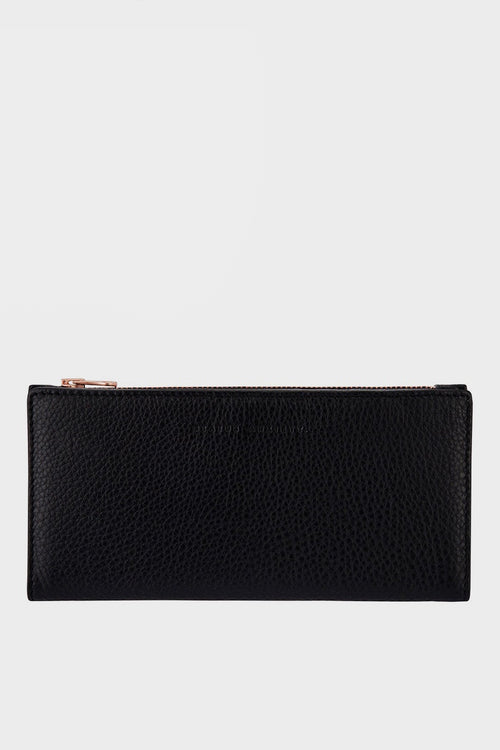 Status Anxiety In The Beginning Wallet - black - Good As Gold