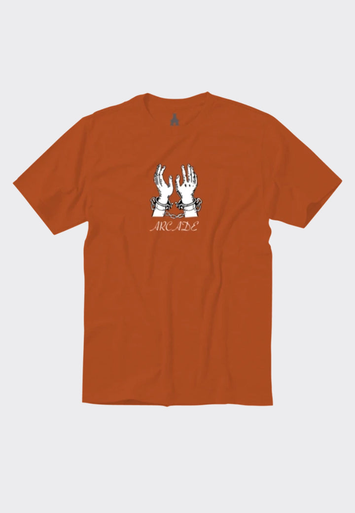 Cuffs T-Shirt - rust orange