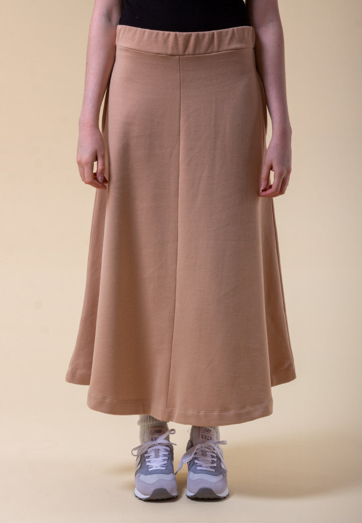 Extreme A Line Skirt - camel