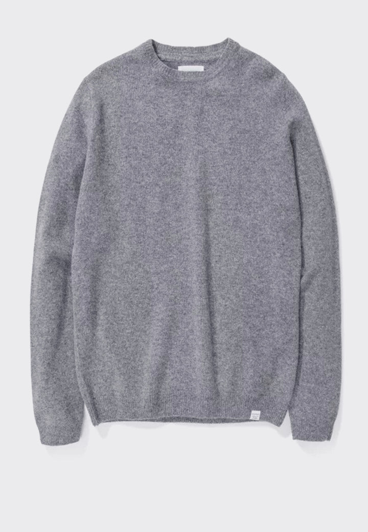 Norse Projects | Sigfred Lambswool - light grey melange | Good As Gold, NZ