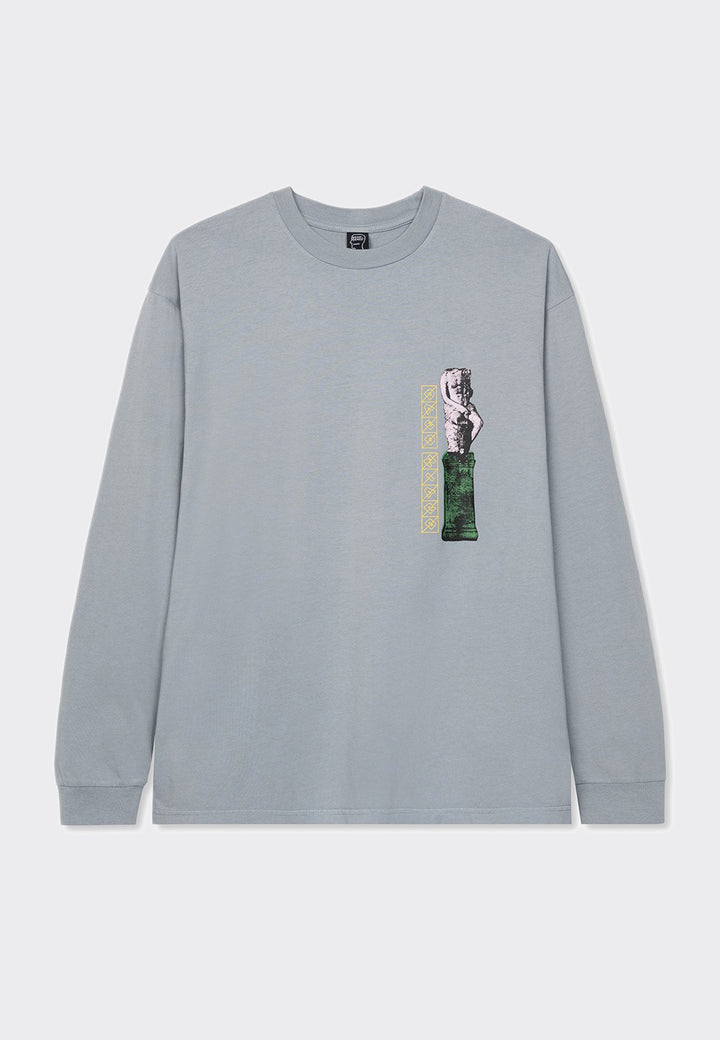 Off World Research Long Sleeve T-Shirt - light blue