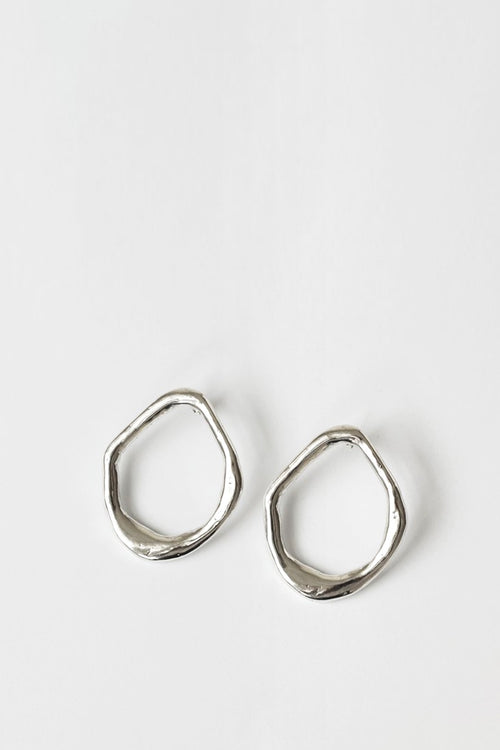 By Nye Aphrodite Earrings - silver  -Good As Gold