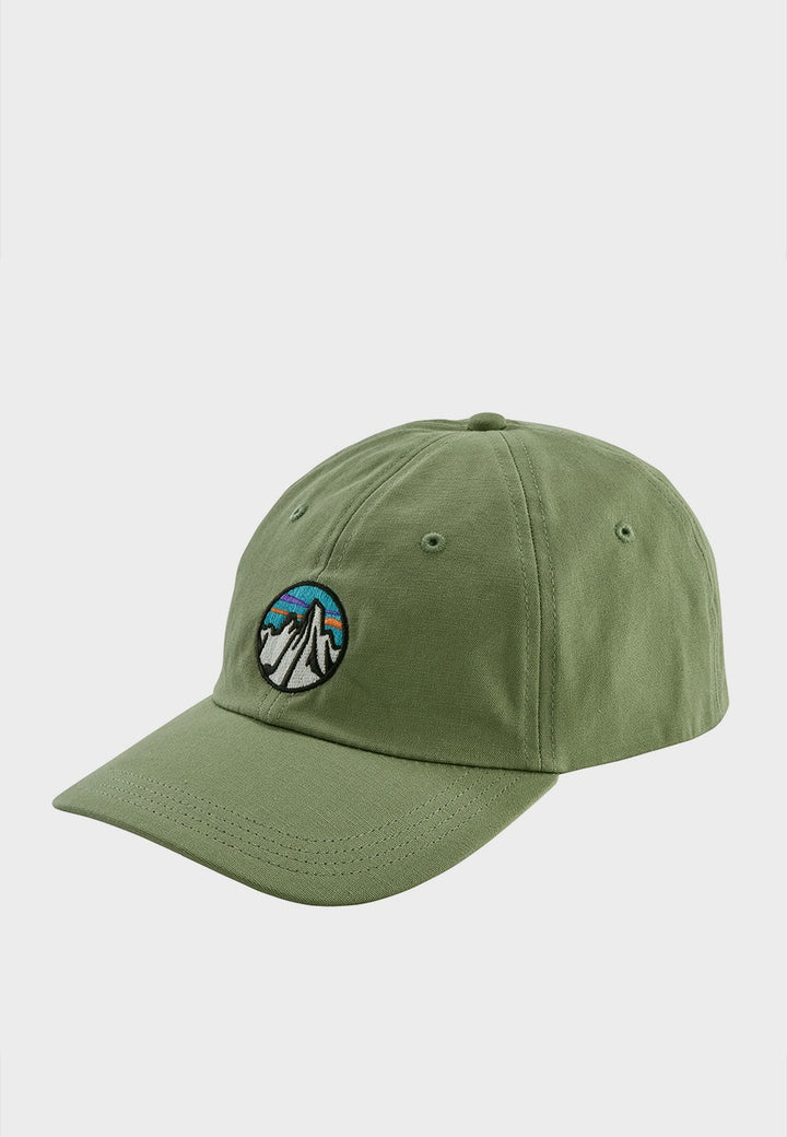 Patagonia Fitz Roy Scope Icon Trad Hat - matcha green - Good As Gold