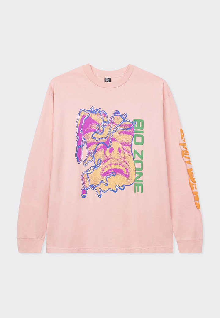 Bio Zone Long Sleeve T-Shirt - pink
