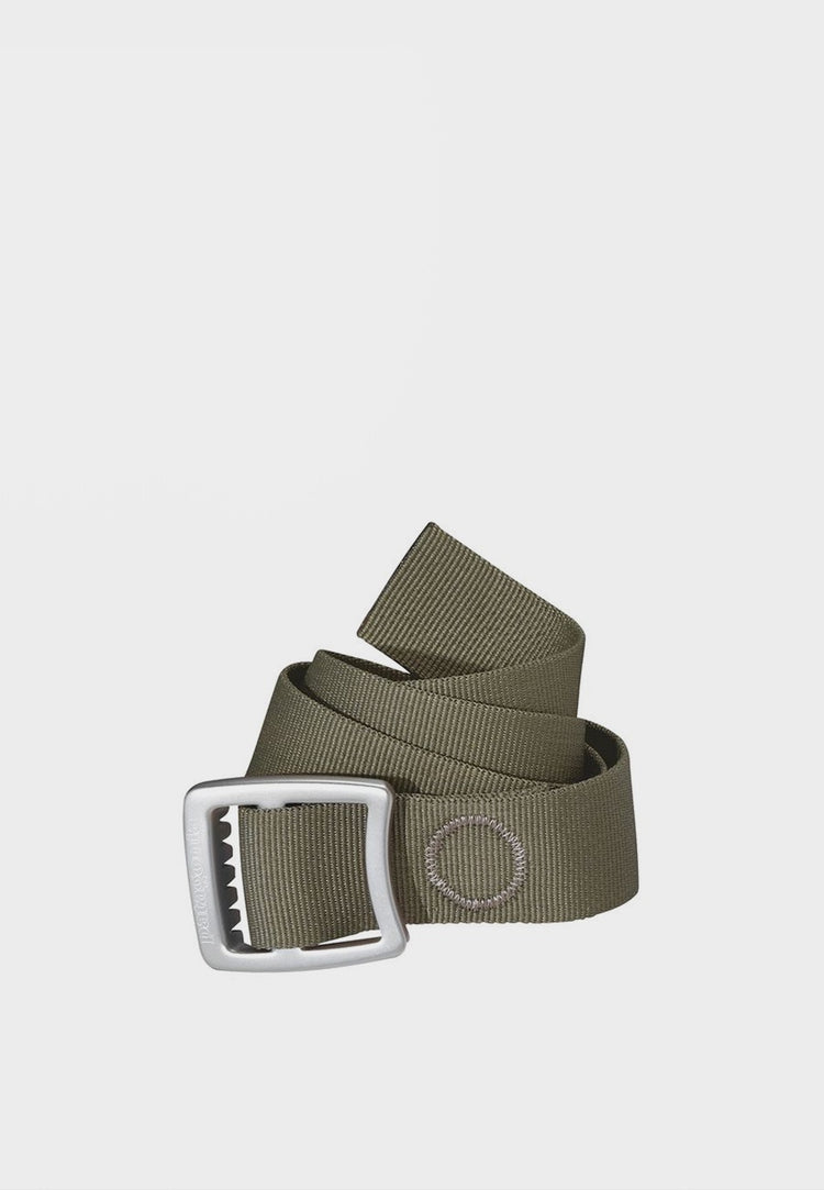 Patagonia Tech Web Belt - industrial green – Good as Gold