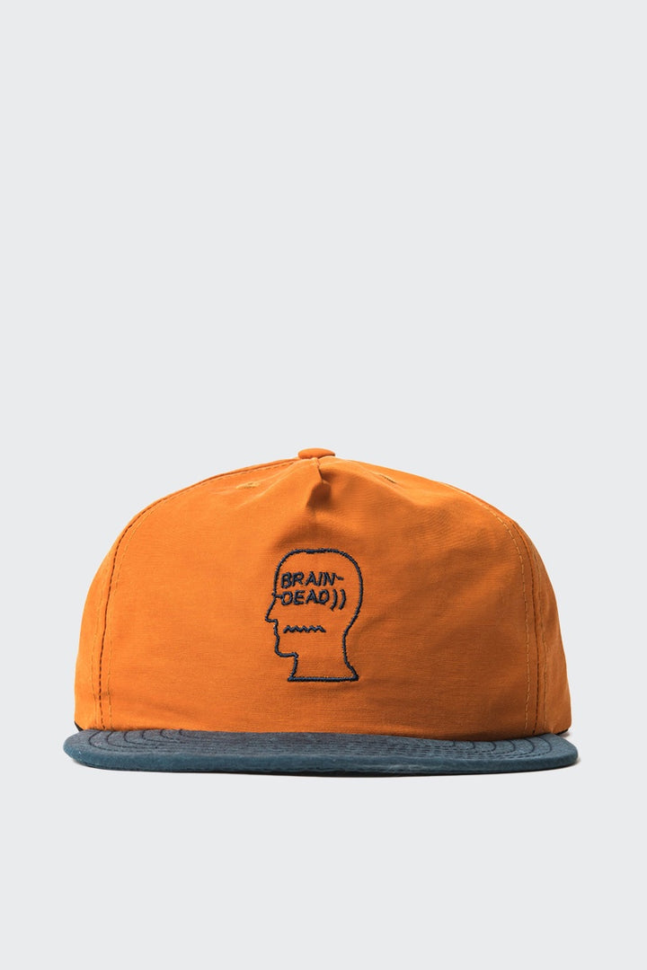 Brain Dead 60/40 Logo Cap - burnt orange | GOOD AS GOLD | NZ