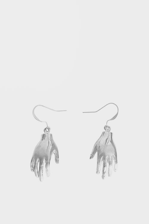 WOS Hello Earrings - silver — Good as Gold