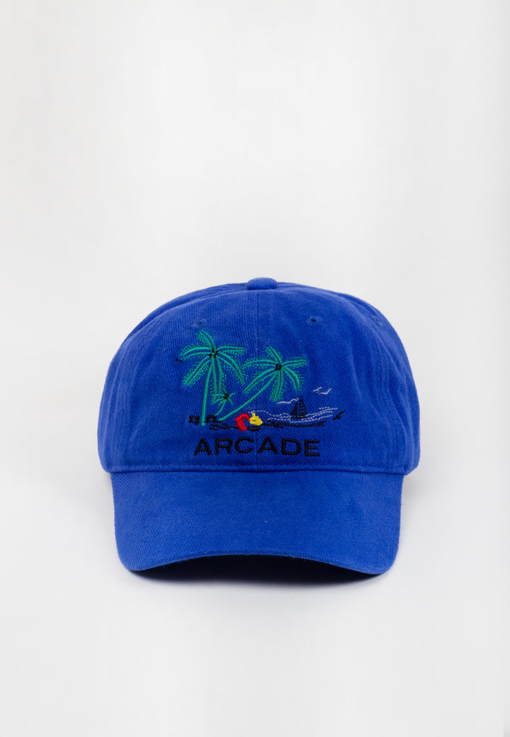 Holiday Hat - royal blue