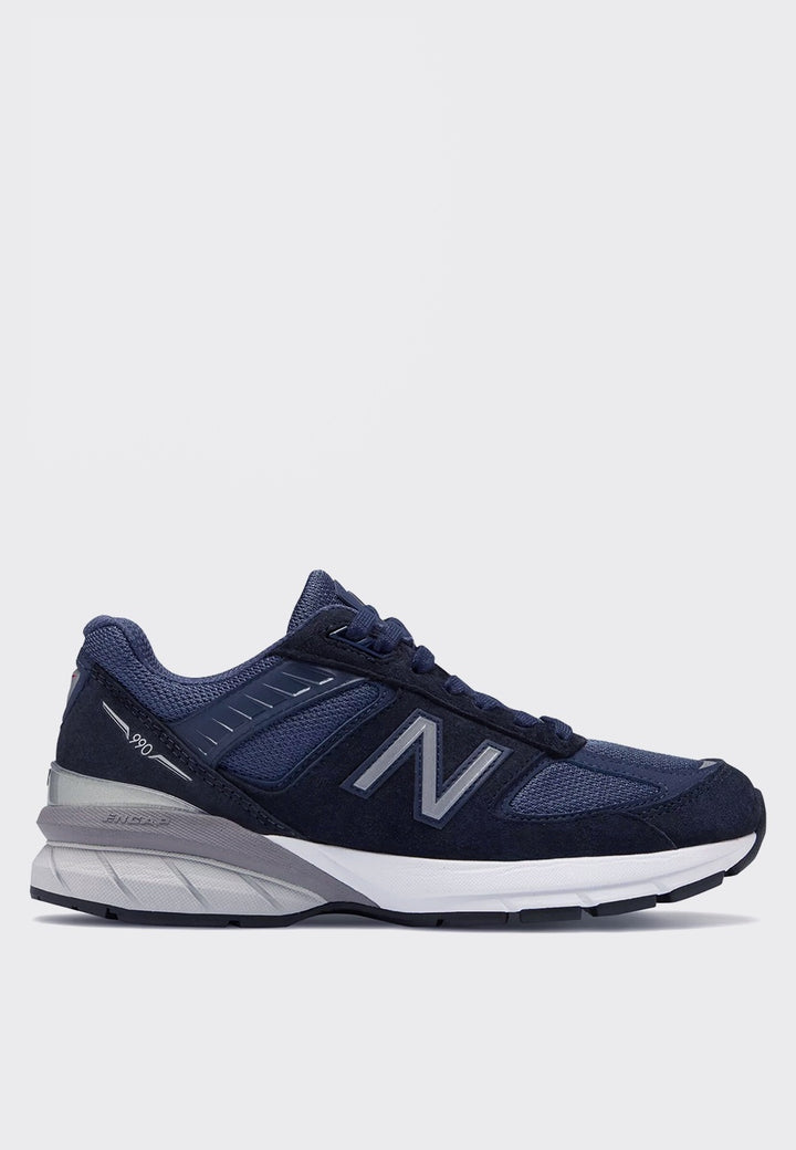 New Balance Womens 990v5 Made in US - navy/grey - Good As Gold