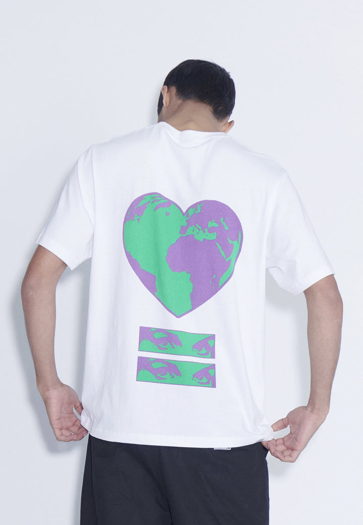World Heartbeat T-Shirt - white