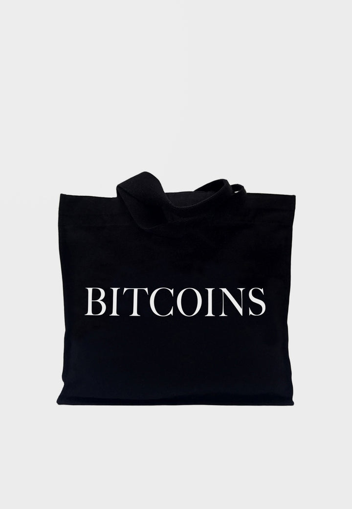 Idea Bitcoins Tote Bag - black — Good as Gold