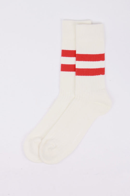 Norse Projects Bjarki Cotton Sport Socks - coral red | GOOD AS GOLD | NZ