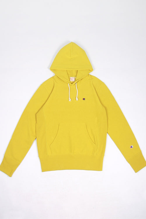 Champion Europe Reverse Weave Hoodie - golden lime | GOOD AS GOLD | NZ