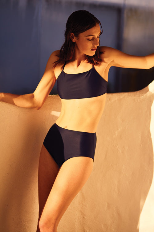 Swim Bandeau Top - midnight