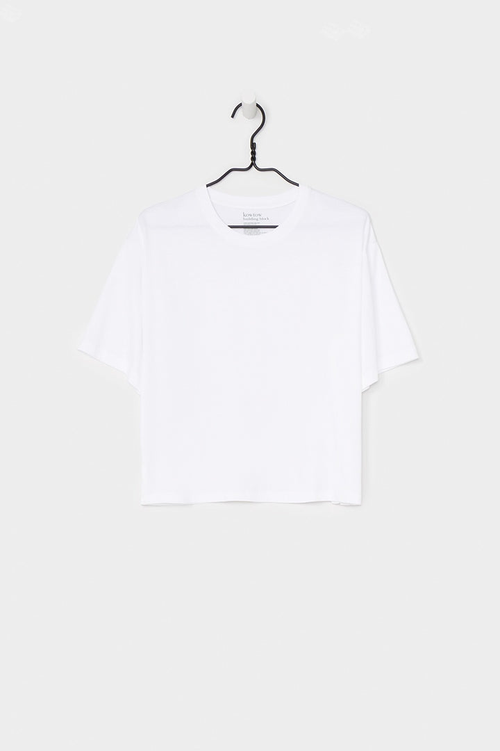Building Block Boxy T-Shirt - white