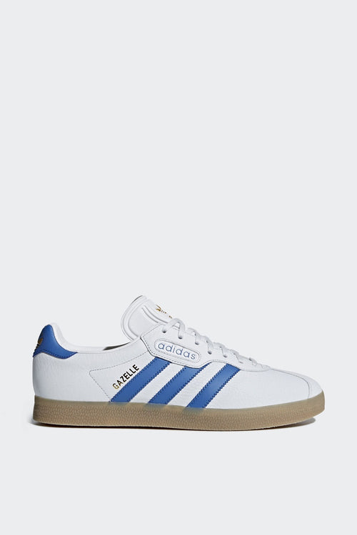 Adidas Originals Gazelle Super - white/blue/brown | GOOD AS GOLD | NZ
