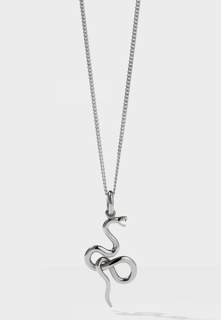 Meadowlark Medusa Necklace - silver - Good As Gold