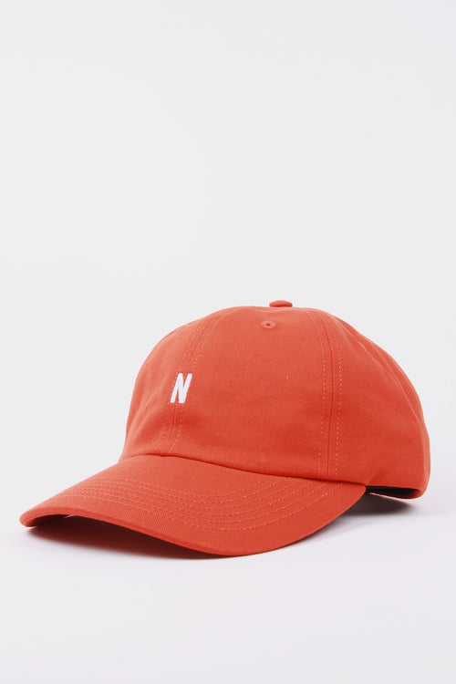 N Logo Cap - oxide orange