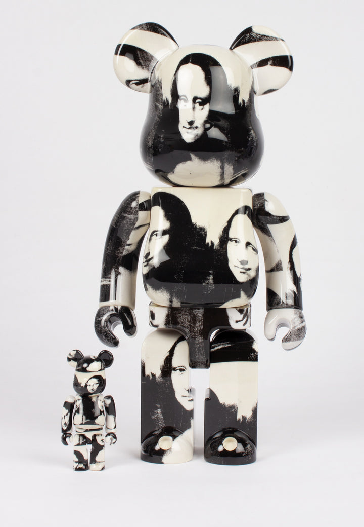 Medicom Toy | Be@rbrick X Andy Warhol Mona Lisa - 100% & 400% figures | Good As Gold, NZ