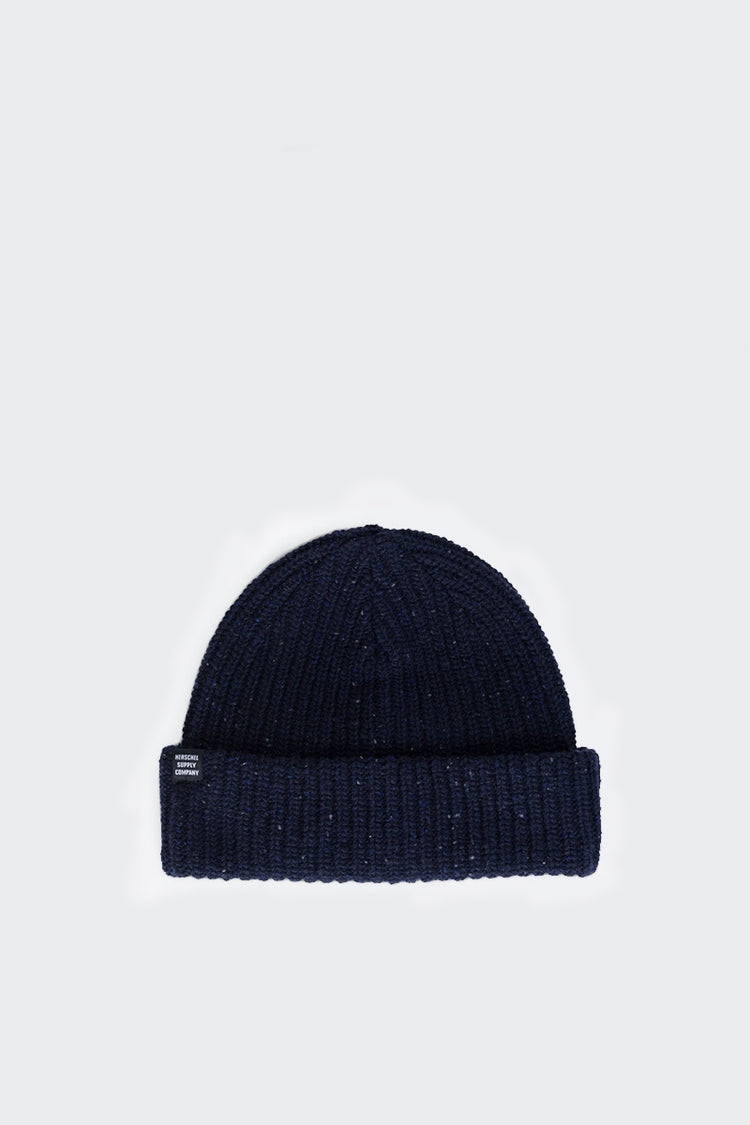 Herschel Supply Co. Buoy Beanie - navy heathered | GOOD AS GOLD | NZ
