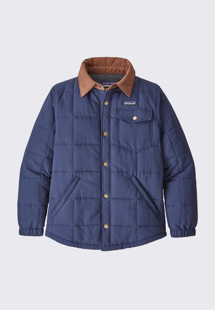 Isthmus Quilted Shirt Jacket - new navy