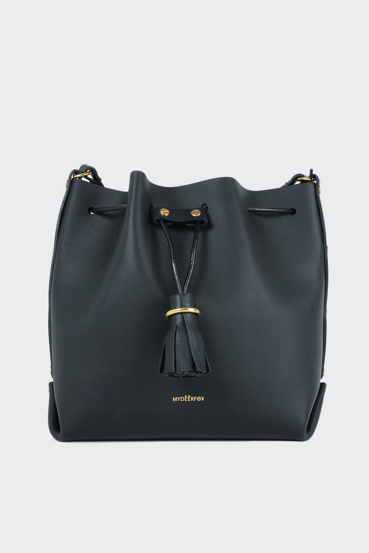 My Deer Fox Bucket P Bag - black | GOOD AS GOLD | NZ